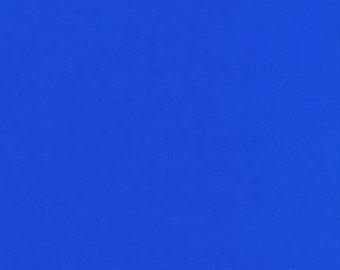 Kona Royal Blue Solid Fabric by Robert Kaufman. 100% cotton. Kona Cotton. Royal Blue Solid Fabric. K001-1314