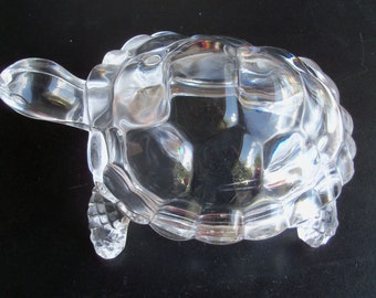 Crystal Turtle Stunning Brilliant Beautiful Piece