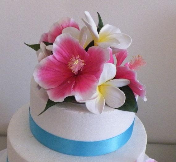Frangipani Cake Topper