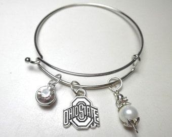 Ohio State Bracelets, Ohio State University Bracelets, OSU Bracelets