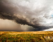 Western Thunder, Landscape Photography, Photography Western, Weather Photos, Fall Print, Plains Wall Art, Western Picture, Shelf Coud