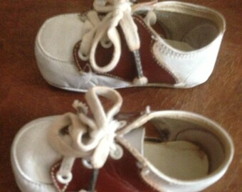 Vintage Infant Oxford Shoes Size 2