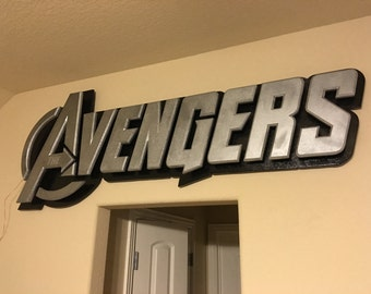 "60"" Avengers Backlit Sign"