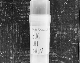Bug Off Balm, Insect Repellant, Natural, Deet Free