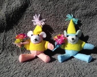 """3"""" Teddy Bears"""