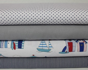 Fabric package Beach Cottage 2 meter No. 1