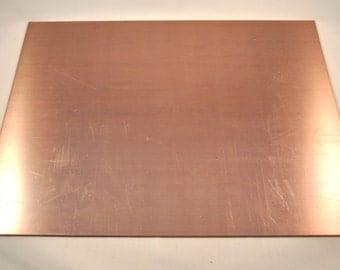 copper plate big (24 x 30 cm)
