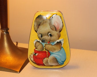 Horner & Co. Candy Tin Honey Bear