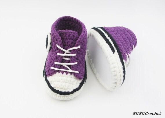 Delicate Crochet Baby Converse Crochet Baby Shoes Crochet Baby Www