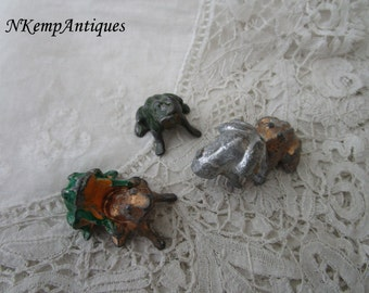 Toad/ frog items 1920's for the collector