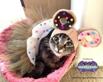 Custom CAT Donutella inspired 2 Piece Set - cartoon - Cat- Costume - Halloween - Celebration - Theme