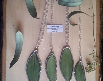 Eucalyptus Leaf Necklaces (Made to Order)
