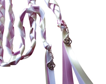 Wedding Hand Fasting / Binding Cord With  Charms by Dunns-jewels