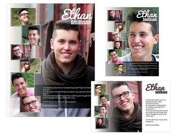 Seniors Yearbook Ads Templates - Ethan