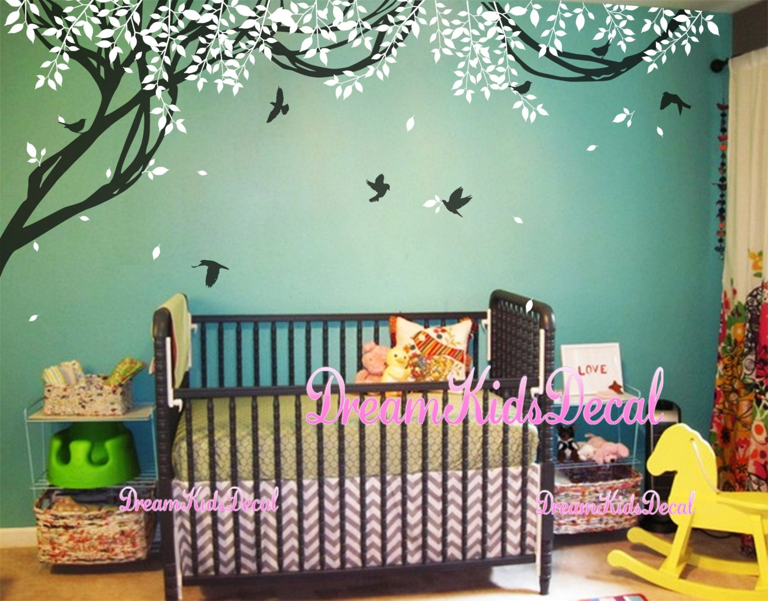 Wall Murals Nursery Wall Decal Baby Wall Decal Children Wall Decal
