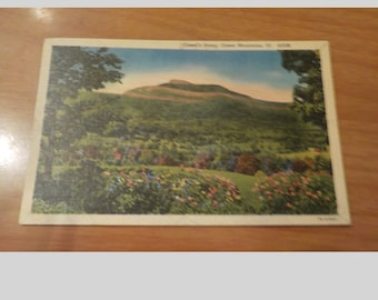 1954 Camel's Hump Green Mountains Vermont Postcard Free Shipping