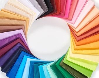Tissue Paper 48 Sheets - Choose Your Color Combo | Bulk Tissue Paper - Multiple Colors