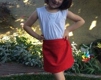 Girls reversible skirt
