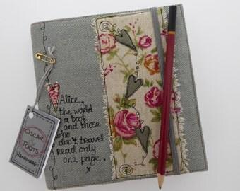 Personalised notebook, journal, custom journal, sketchbook, personalised, writing book.custom journal