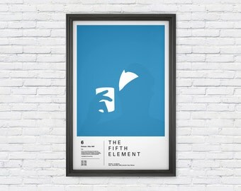 The Fifth Element Poster Print - Zorg