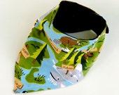 Reversible adjustable Canada teething bib, Lumberjack bandana bib, New Brunswick bib, Ontario baby shower gift, Moose drool bib, Loon scarf