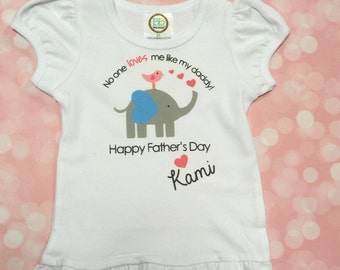 Father's Day Onesie/Happy Father's Day Top/Father's Day Gift/ fathers day onesie girl /Happy Father's Day/ First Fathers Day