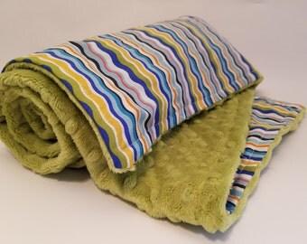 Cozy Soft ZigZaggy Blanket