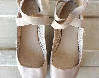Banded Ballet Flats