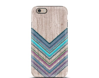 Chevron iPhone 6 case, iPhone 7 case, iPhone case, iPhone 6 case, iPhone 7 case tough, iPhone 5 case, iphone 5s case, iphone 6s plus - Wood