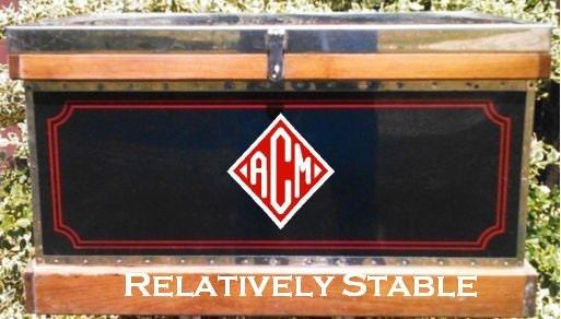 Custom Tack Trunk Monogram Large Custom Monogram Equestrian