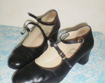 Voglia Matta Italian leather vintage shoes/Womens 8/39