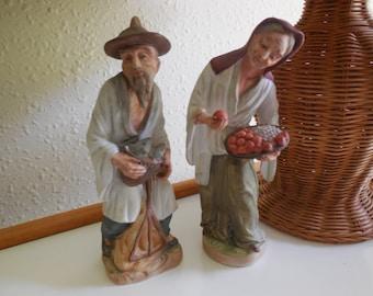 NIPPON YOKO BOEKI Male and Female Figurines