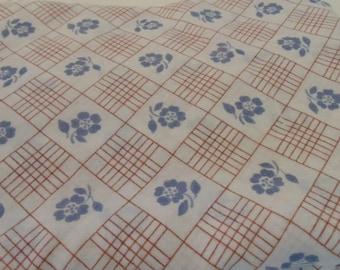 Vintage Sheet Twin Flat Vintage Bedding
