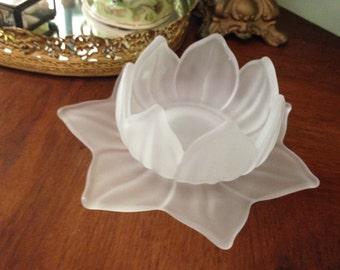 Lotus Bowl and Saucer