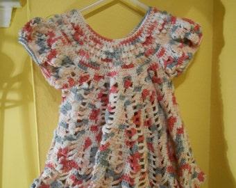 Handmade Baby Crochet Dress