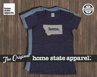 Montana Home. T-shirt- Womens Cut