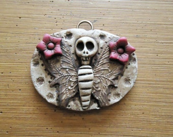 Day of The Dead Old West Lost Souls Gothic Jewelry Pendant
