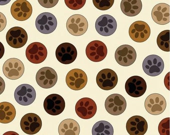 Cream Paws to You print from the Dog Gonnit Collection by Kanvas