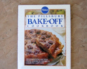 The Pillsbury Bake Off Cookbook, 1990 Pillsbury Cookbook, Vintage Cookbook