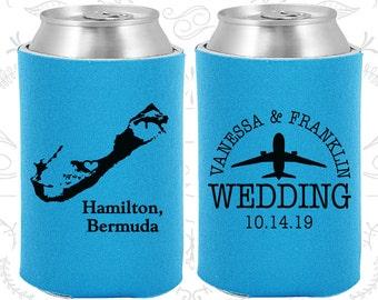 Sky Blue Wedding, Can Coolers, Sky Blue Wedding Favors, Sky Blue Wedding Gift, Sky Blue Party Favors (163)