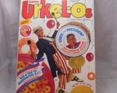 Urkleos cereal box