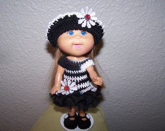 "Dolls, Cabbage Patch Dolls, Cabbage Patch Lil Sprouts Dolls, Doll Clothes, Discontinued 5"" Doll"