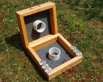 Custom-built Washer Toss Game Set