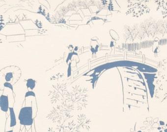 Alexander Henry - Tokaido Road - #8342C - Blue/Natural