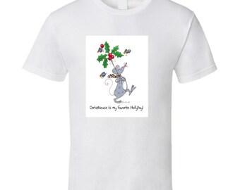 Christmouse Hollyday T Shirt