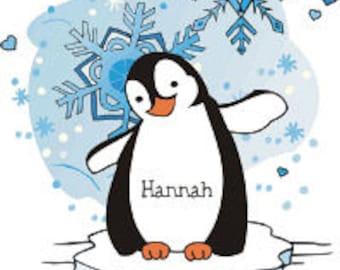 Personalized Penguin Sweatshirt
