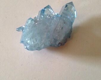 Aqua aura quartz #1
