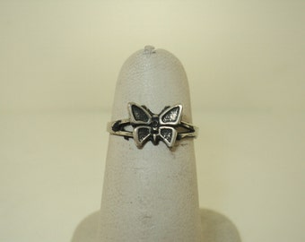 Cut Out Butterfly Toe Ring (JC-384)