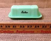Jadeite Butter Dish Reproduction Depression Glass #525J