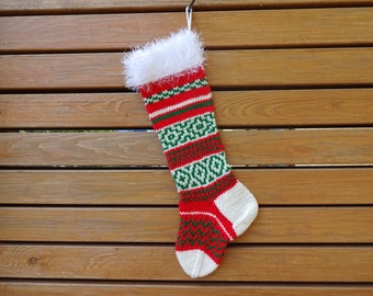 "Shop ""knitted christmas stocking"" in Toys & Games"
